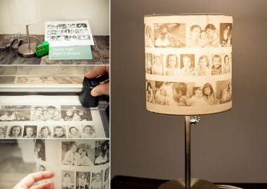 This DIY Photo Lamp is Just Lovely fi