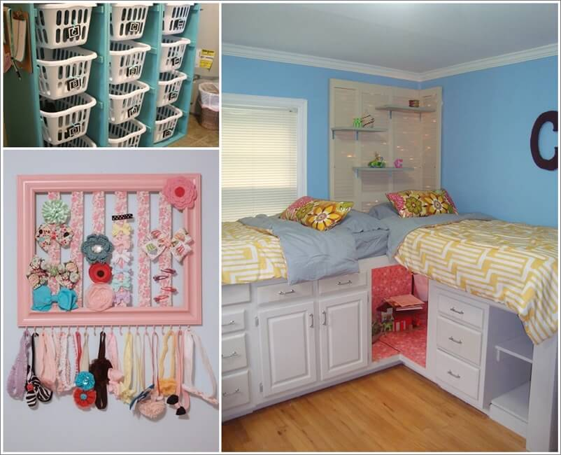 View these ingenious kids room organization hacks