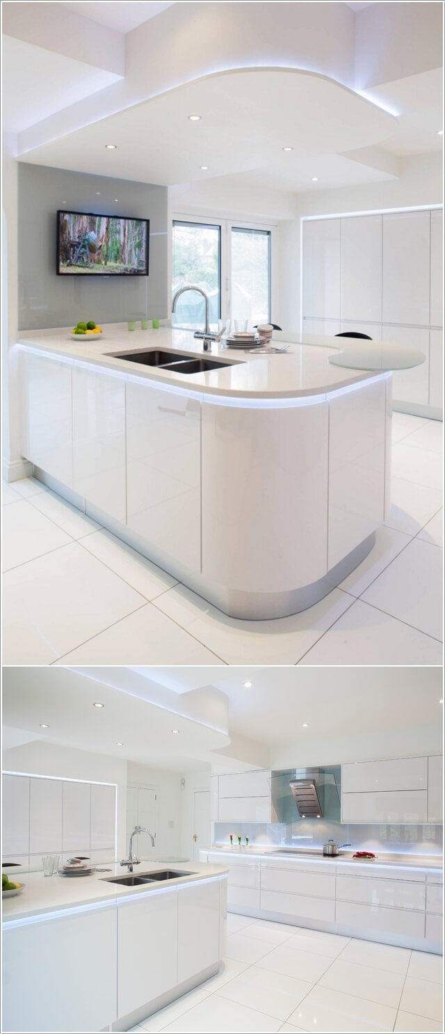 What Kind of Flooring Looks Good in a White Kitchen 2