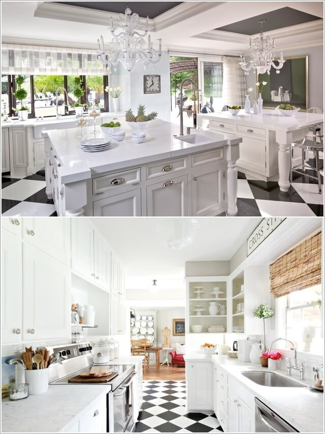 What Kind of Flooring Looks Good in a White Kitchen 5