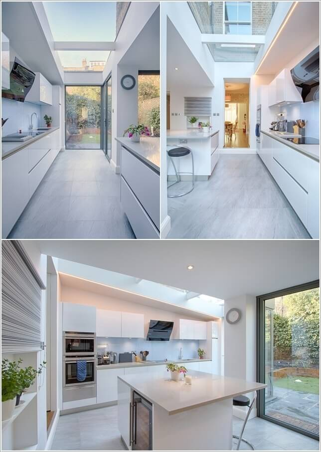 What Kind of Flooring Looks Good in a White Kitchen 7