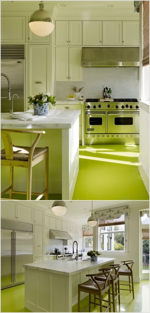 What Kind of Flooring Looks Good in a White Kitchen 9