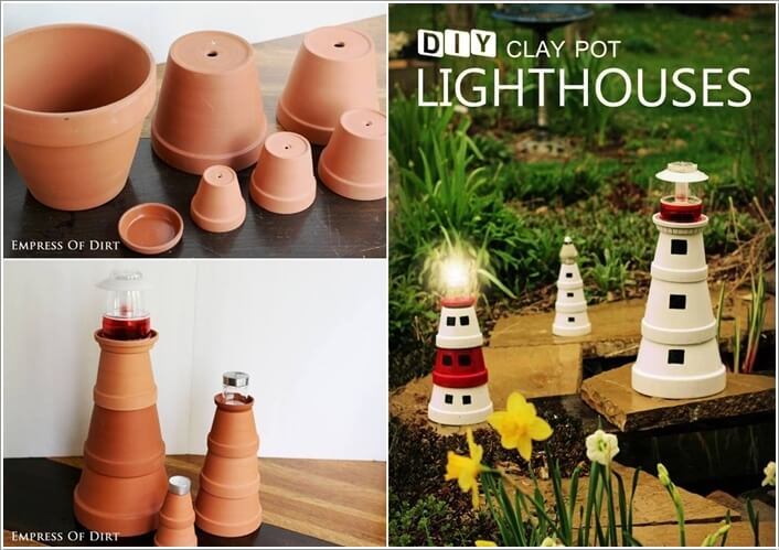 10 Cool Clay Pot Garden Crafts for You to Try 5