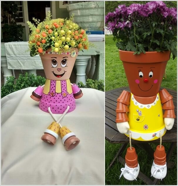 10 Cool Clay Pot Garden Crafts For You To Try