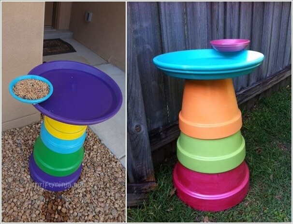 10 Cool Clay Pot Garden Crafts for You to Try 10