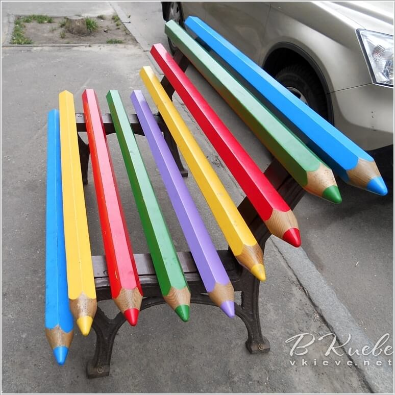 10 Cool Color Pencil Inspired Home Decor Ideas 4
