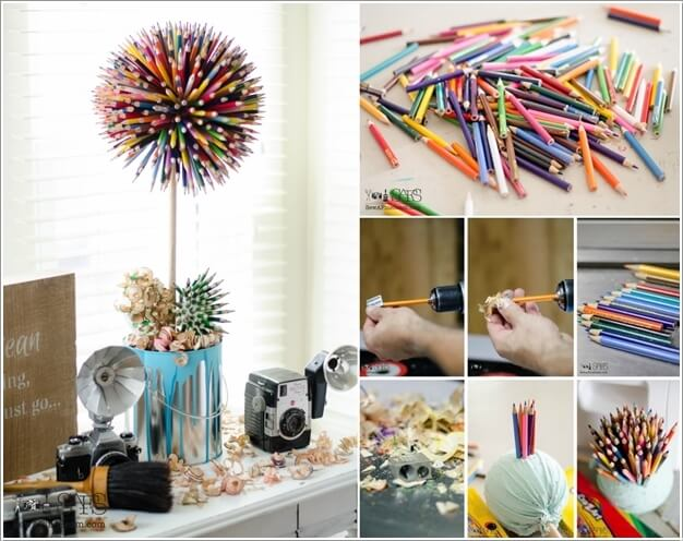 10 Cool Color Pencil Inspired Home Decor Ideas 7