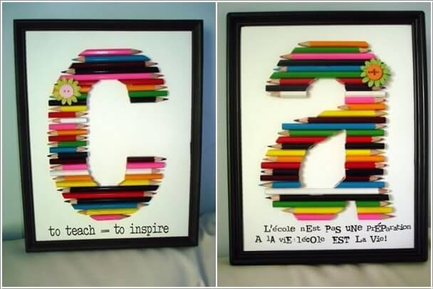 10 Cool Color Pencil Inspired Home Decor Ideas 8