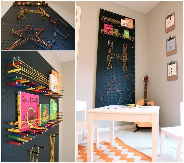 10 Cool Color Pencil Inspired Home Decor Ideas 9