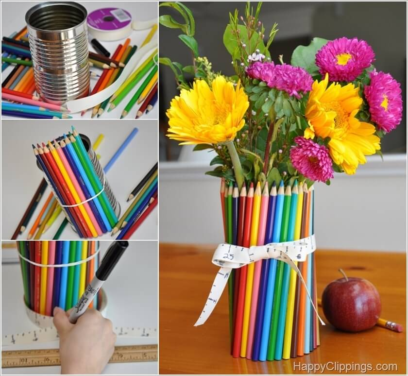 10 Cool Color Pencil Inspired Home Decor Ideas 1