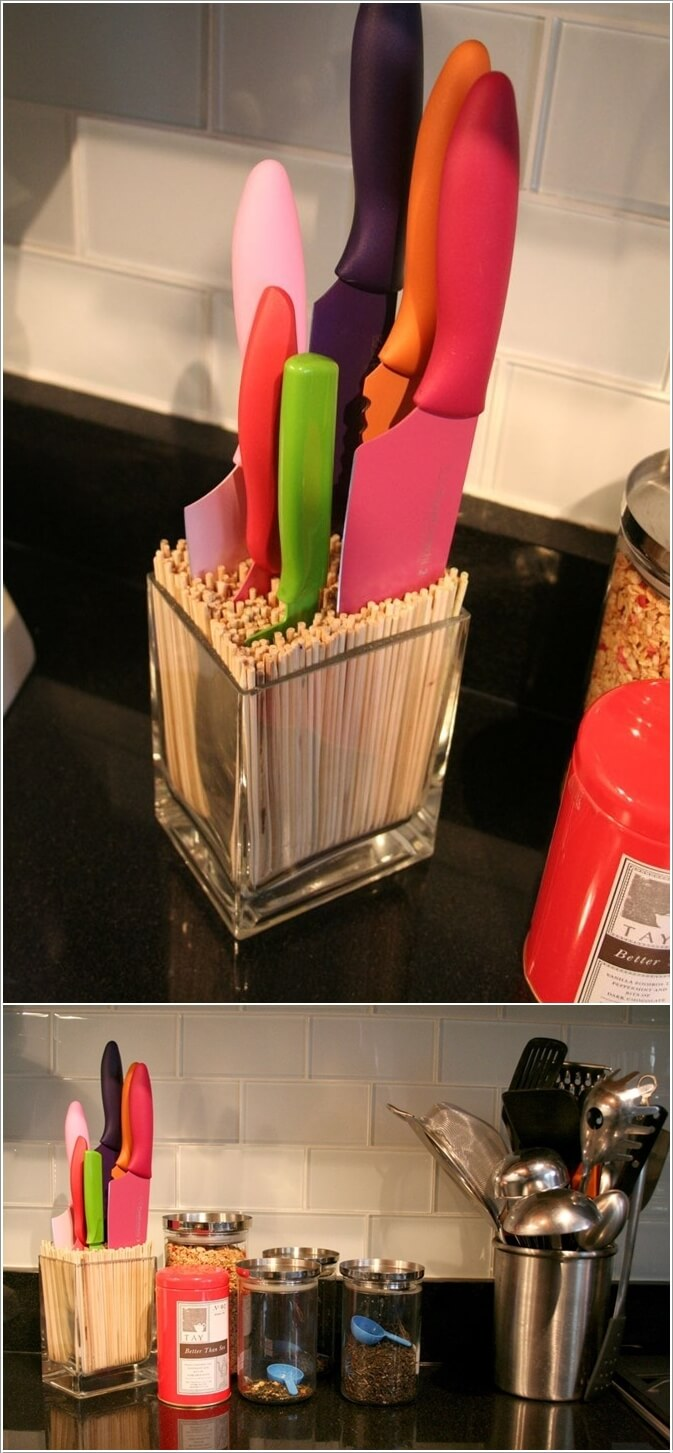 10 Creative Ways To Store Kitchen Knives