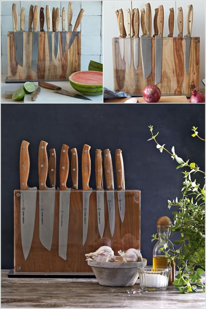 10 Creative Ways To Store Kitchen Knives 8