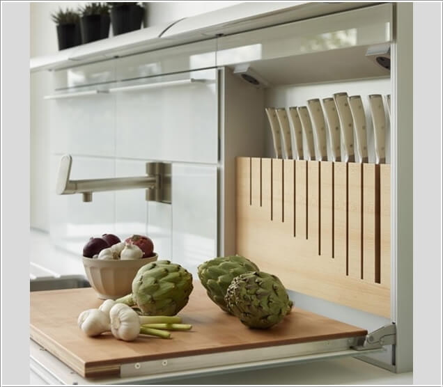 10 Creative Ways to Store Kitchen Knives 10