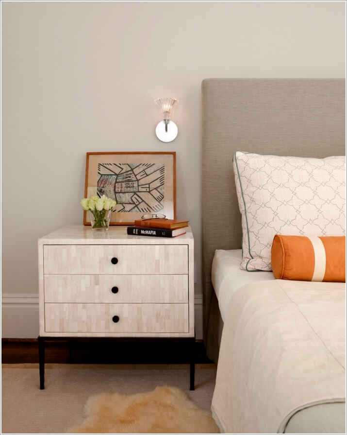 10 Creative Ways to Style Your Nightstand 3