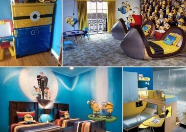 10 Cute and Cool Minions Kids Room Ideas fi