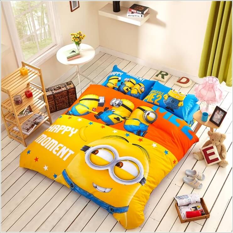 10 Cute and Cool Minions Kids Room Ideas 4