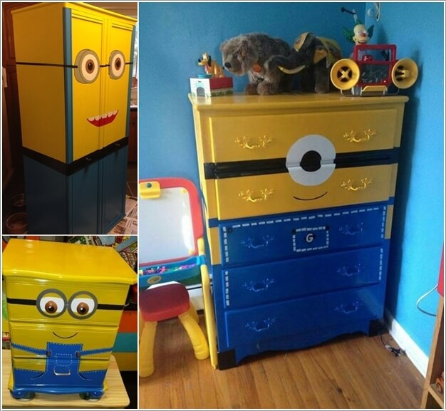 10 Cute and Cool Minions Kids Room Ideas 5