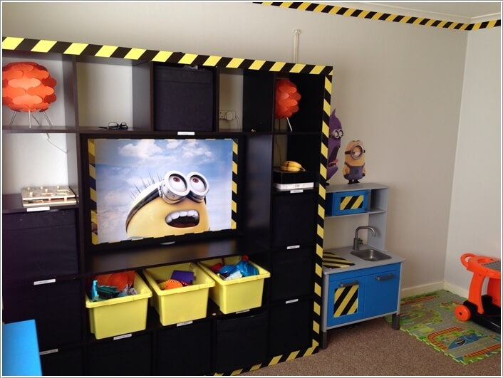 10 Cute and Cool Minions Kids Room Ideas 6