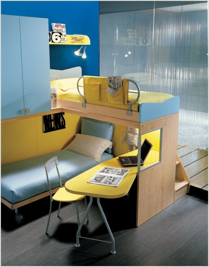 10 Cute and Cool Minions Kids Room Ideas 7