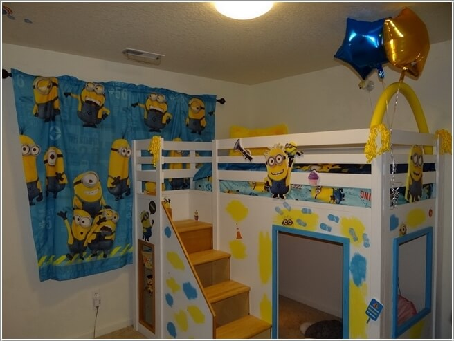 10 Cute and Cool Minions Kids Room Ideas 9