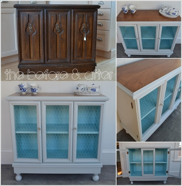 10 Fabulous Before And After Furniture Makeover Projects 2