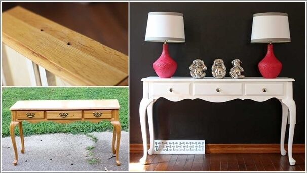 10 Fabulous Before and After Furniture Makeover Projects 5