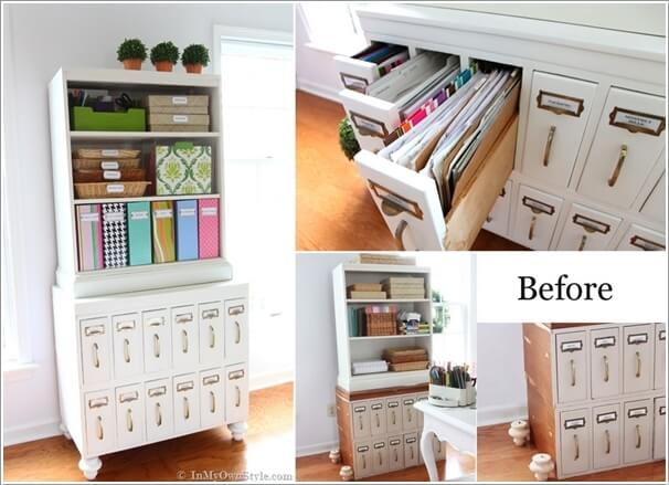 10 Fabulous Before and After Furniture Makeover Projects 7
