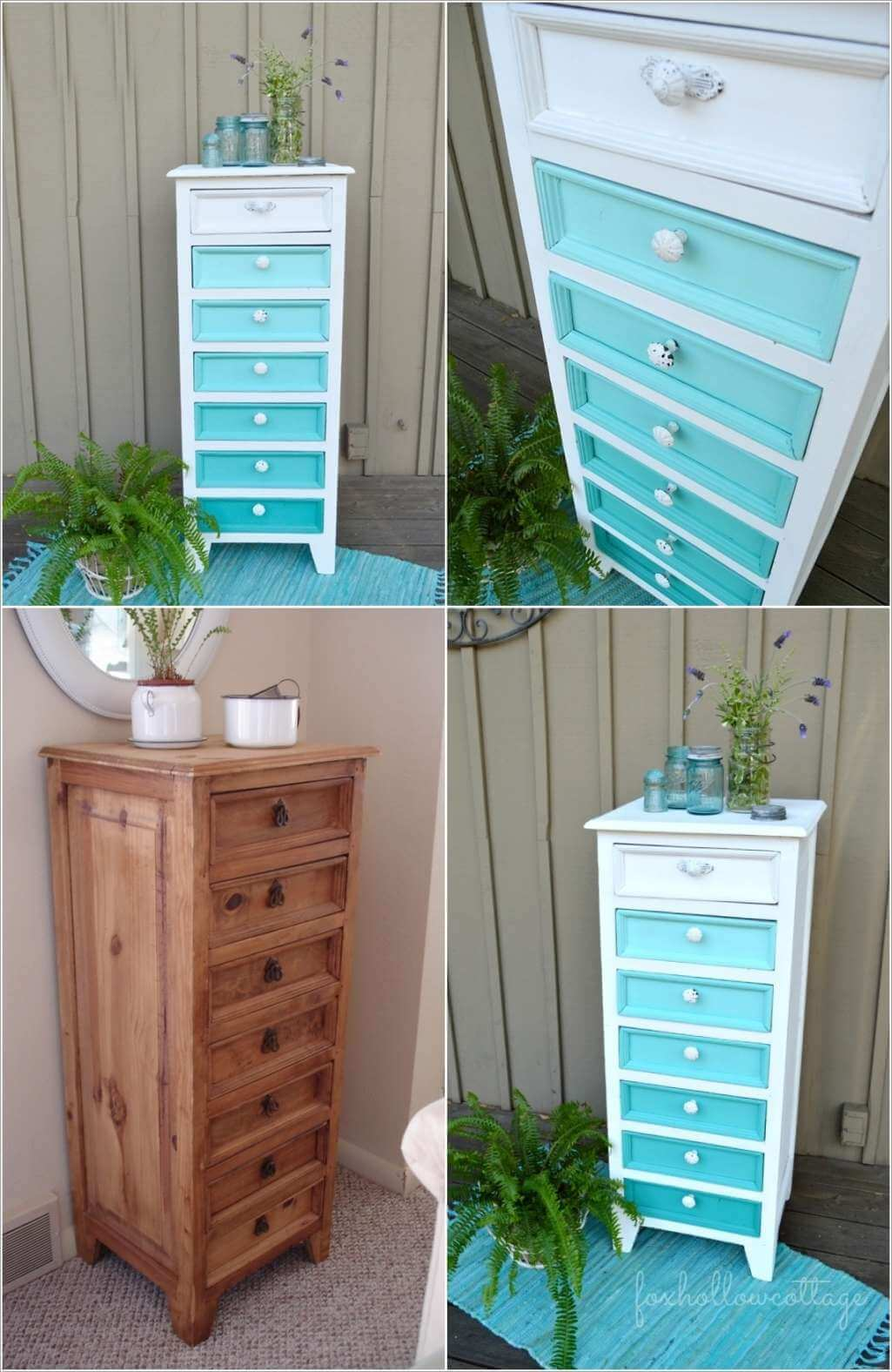 10 Fabulous Before And After Furniture Makeover Projects 9