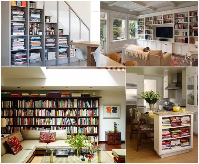 10 Places In Your Home to Display Books At a