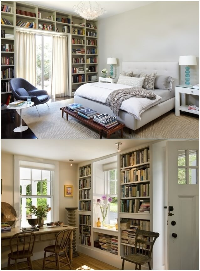 10 Places In Your Home to Display Books At 5