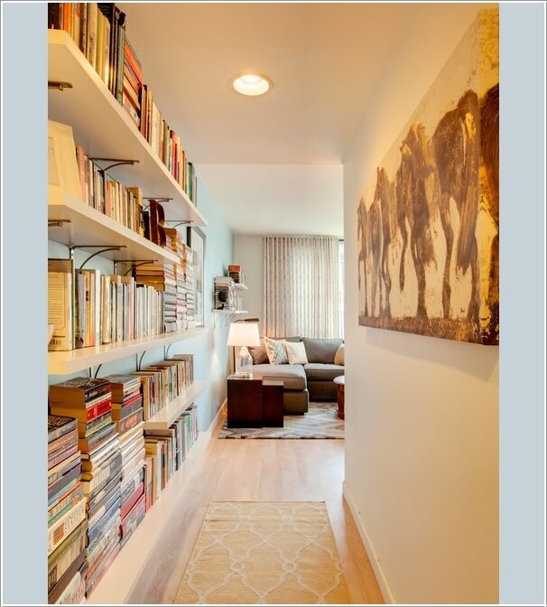 10 Places In Your Home to Display Books At 6