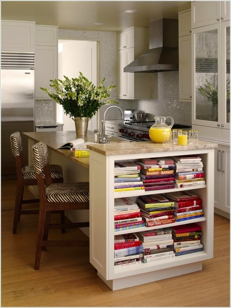 10 Places In Your Home to Display Books At 7