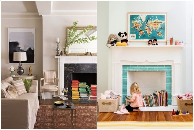 10 Places In Your Home to Display Books At 9
