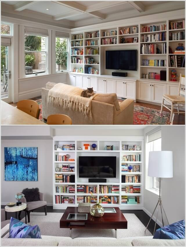 10 Places In Your Home to Display Books At 10