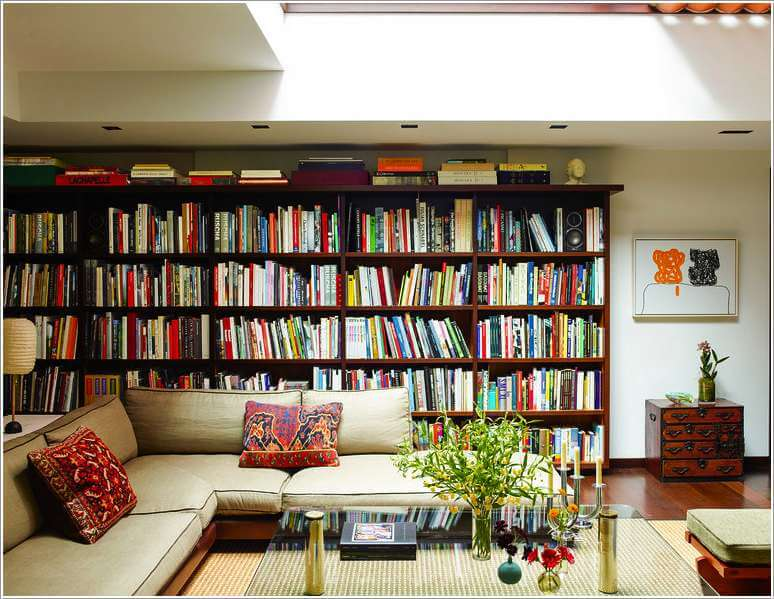 Marvelous 10 Places In Your Home To Display Books At 1