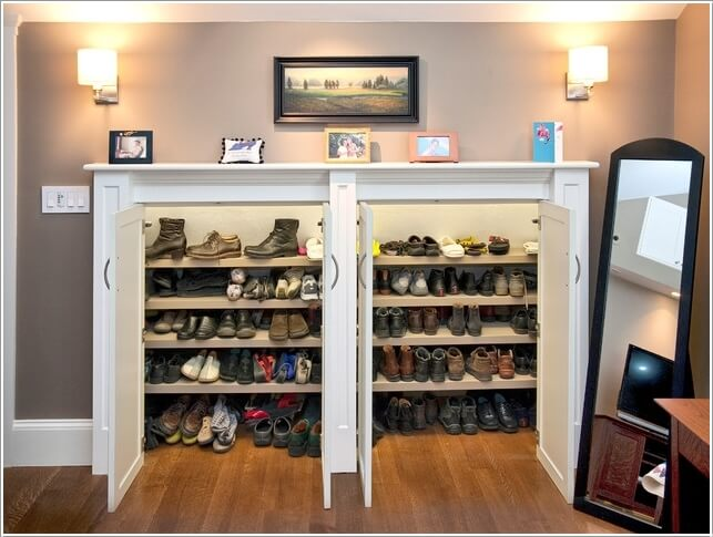 10 Places Where You Can Install a Shoe Rack 2