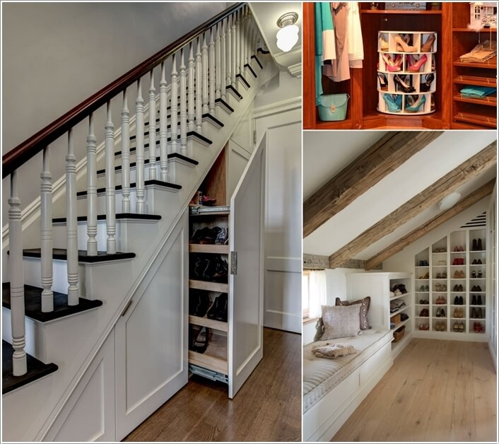 10 Places Where You Can Install a Shoe Rack a