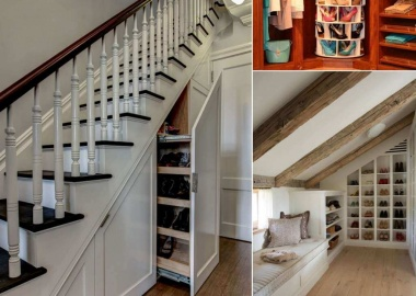 10 Places Where You Can Install a Shoe Rack fi