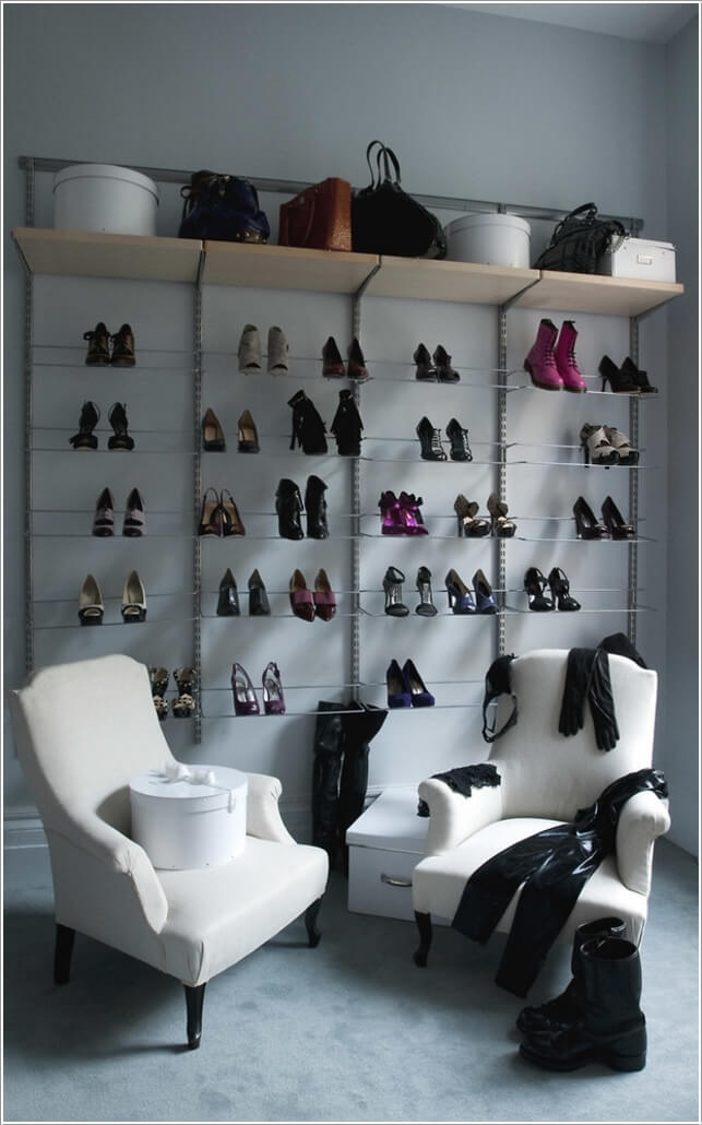 10 Places In Your Home Where You Can Install A Shoe Rack