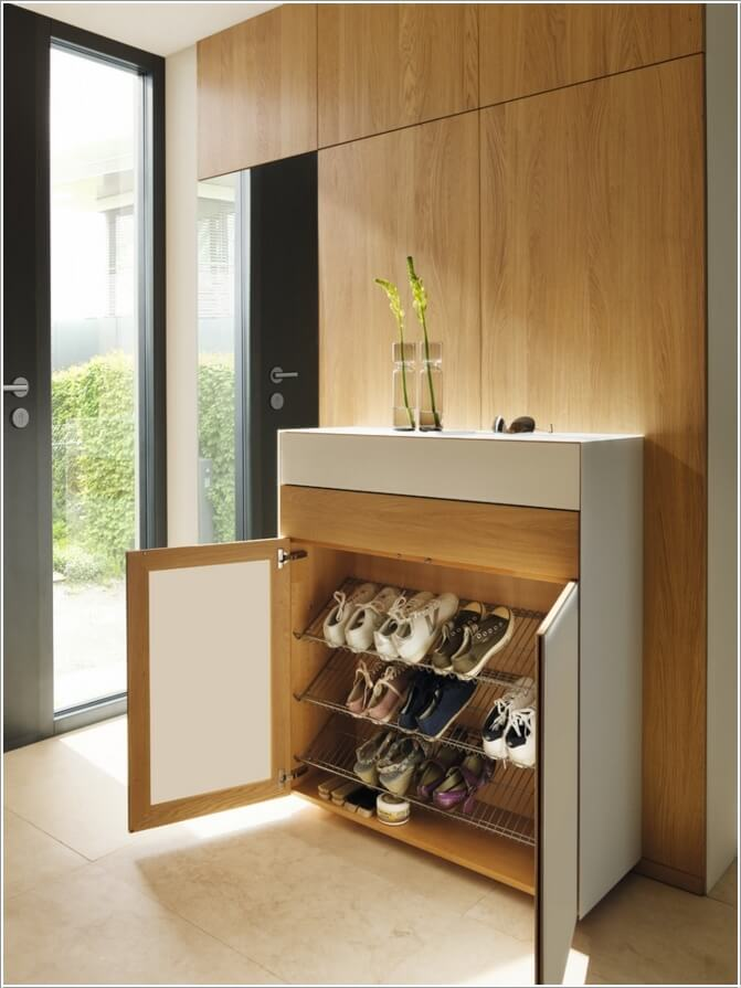 10 Places Where You Can Install a Shoe Rack 5