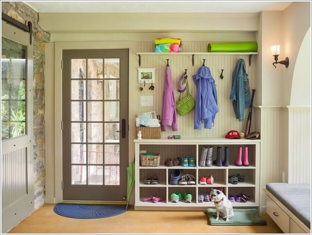 10 Places Where You Can Install a Shoe Rack 7