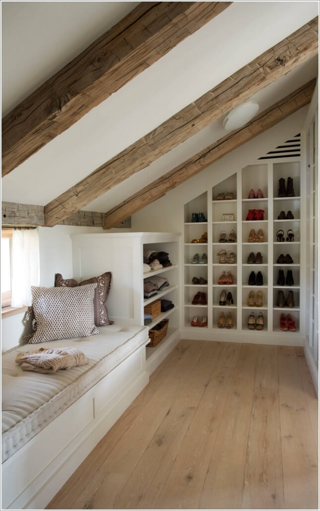 10 Places Where You Can Install a Shoe Rack 10