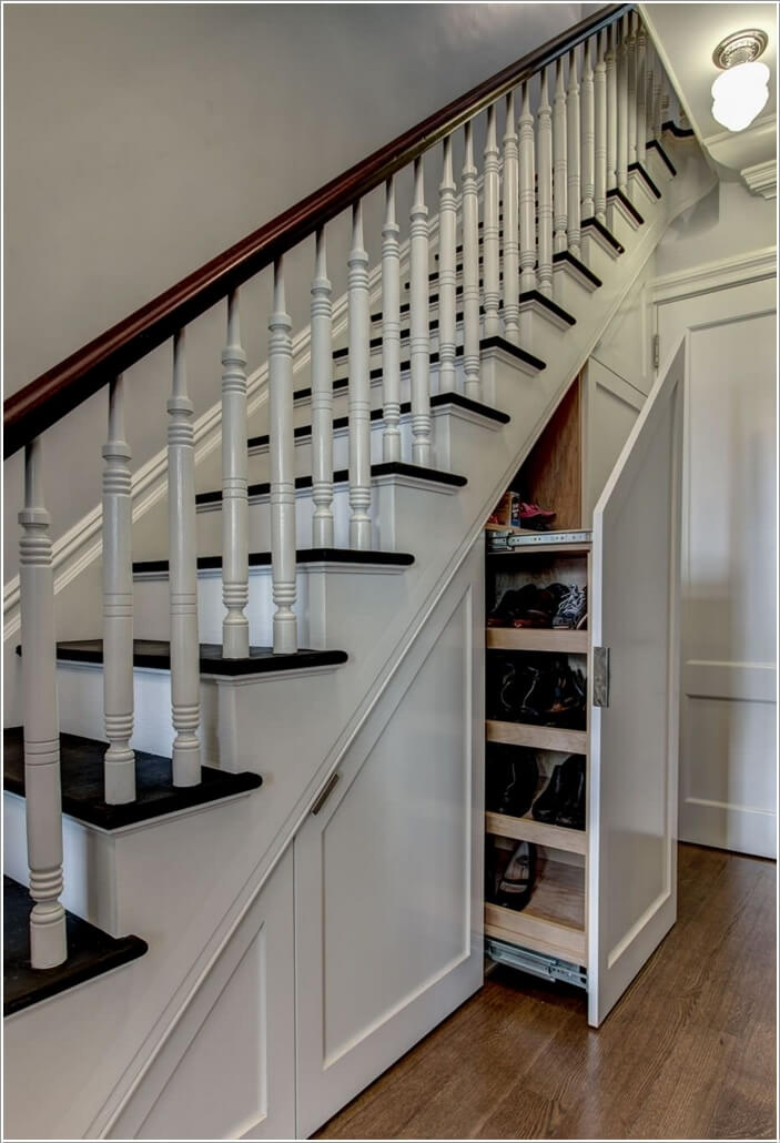 10 Places Where You Can Install a Shoe Rack 1
