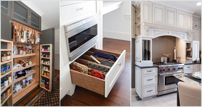 Charming 10 Practical Cookie Sheet And Baking Tray Storage Ideas A