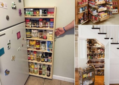 15 Practical Food Storage Ideas for Your Kitchen fi