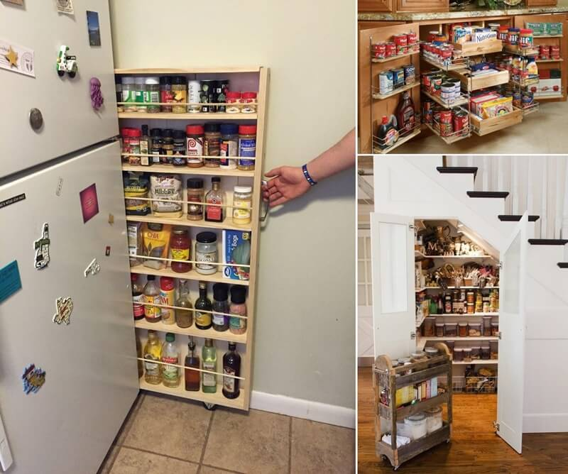 15 practical food storage ideas for your kitchen - Kitchen storage for small spaces ideas ...