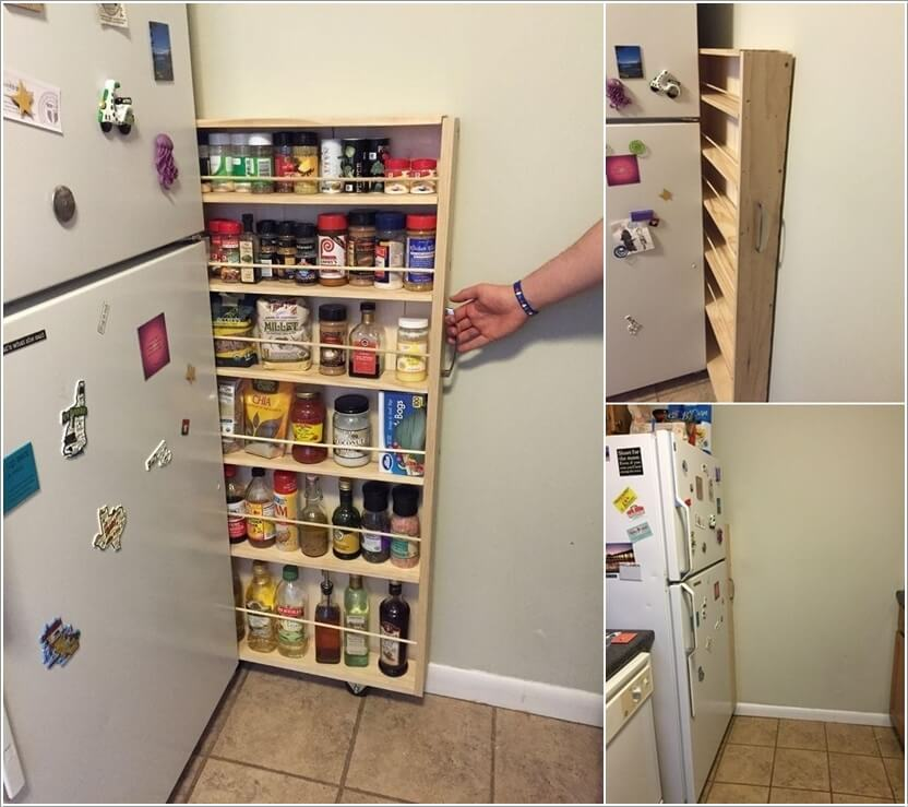 15 practical food storage ideas for your kitchen for Practical kitchen ideas