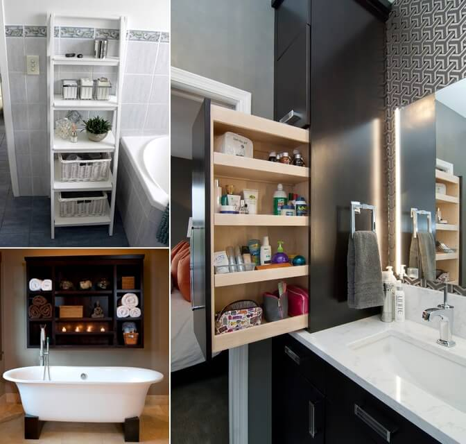 10 practical ways to store your toiletries for Bathroom design 3x2