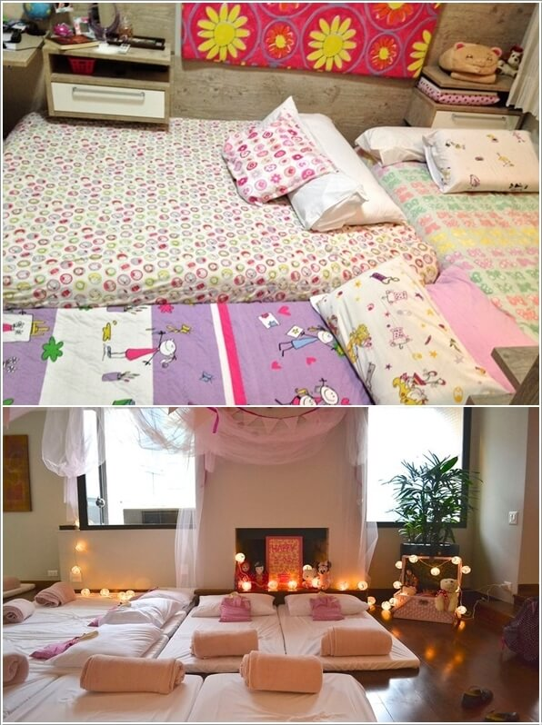 10 Super Cute Slumber Party Decor Ideas 2