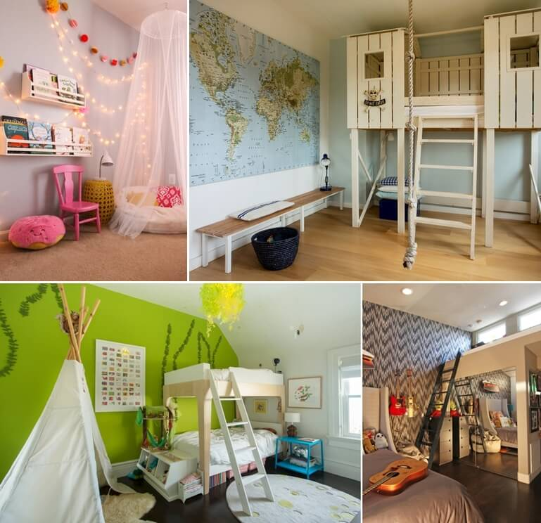 15 Cool Hideaway Ideas For Your Kids' Room